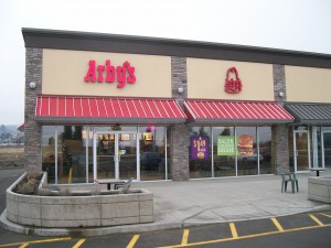 Arby's front entrance