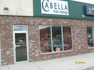 Cabella Hair Design storfront