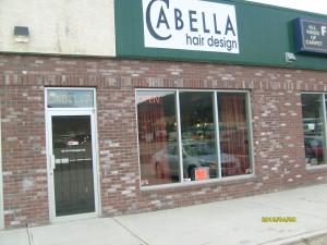 Cabella Hair Design storfront